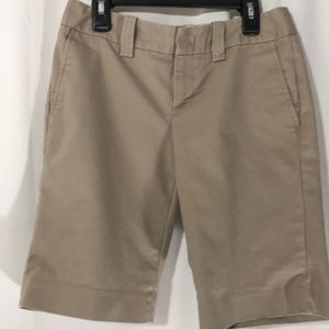 Banana Republic Tan Shorts.